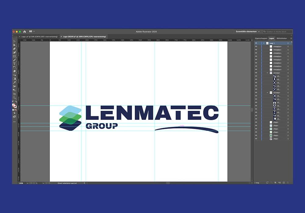 Logo uitwerken