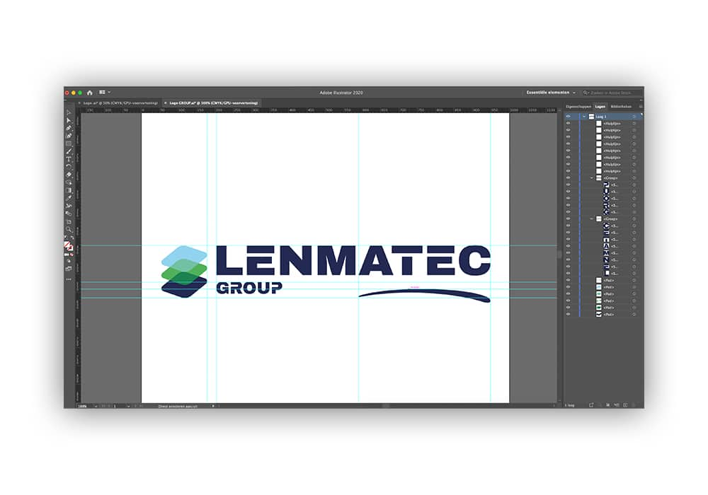 Logo uitwerken Branding